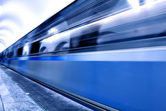 Velocity train Royalty Free Stock Photo