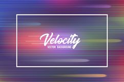 Velocity vector background 02. High speed and Hi-tech abstract technology background. Stock Photo