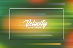 Velocity vector background 04. High speed and Hi-tech abstract technology concept background. Stock Photo