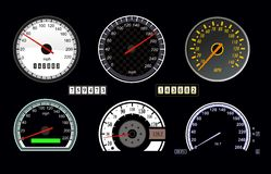 Velocímetro Imagem de Stock
