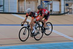 Velodrome arena racing Stock Photos