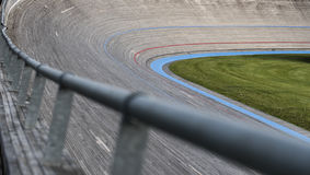 Velodrome bicycle racing track Royalty Free Stock Photo