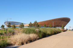 The Velodrome Cycling Arena in Queen Elizabeth Olympic Park. Royalty Free Stock Photo