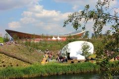 Velodrome do parque olímpico de Londres Imagem de Stock