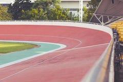 Velodrome. Professional beautiful cycle track. Velodrome Stock Photography