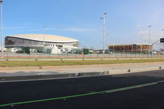 Velodrome of the Rio 2016 Olympic Games Stock Image