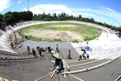 Velodrome Stock Photography