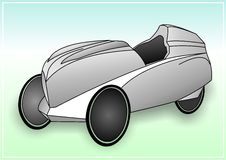 velomobile en Arkivbild