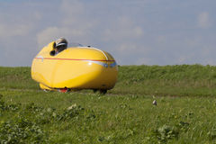 Velomobile Royalty Free Stock Photography