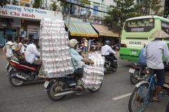 Velomotor em Ho Chi Minh, Vietname fotos de stock royalty free