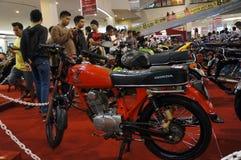 Velomotor retro Fotografia de Stock