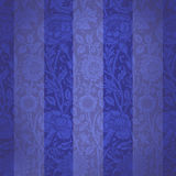 Velours bleu Photographie stock libre de droits