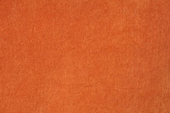 Velours et tissu orange de luxe Photo stock