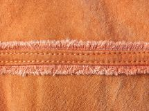 Velours leather Royalty Free Stock Images