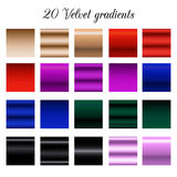 Velours noir Tone Color Shade Background, échantillons de gradient de velours Images libres de droits