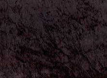Velours noirs Shimmery Photos libres de droits