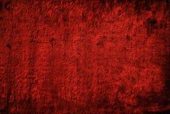 Velours rouge Photographie stock libre de droits