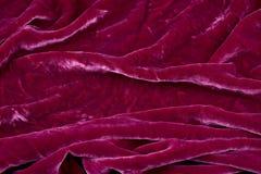Velours rouge Photos libres de droits