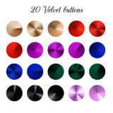 Velours Tone Color Shade Background, mailles de gradient de velours illustration stock