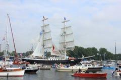 Velsen holandie - Sierpień 19 2015: Żagiel Amsterdam 2015 Fotografia Royalty Free