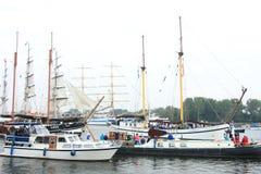 Velsen, los Países Bajos - 19 de agosto de 2015: Vela Amsterdam 2015 Foto de archivo