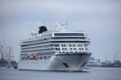 Velsen Nederländerna - Juni, 27. 2018: Millivolt Viking Star Royaltyfria Foton