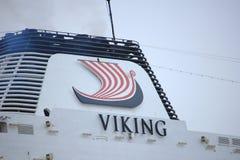 Velsen Nederländerna - Juni, 27. 2018: Millivolt Viking Star Arkivbild