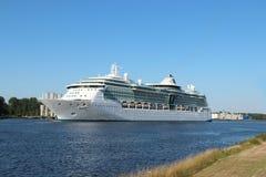 Velsen, Nederland - Juli derde 2018: Schittering van het Overzees royalty-vrije stock foto's