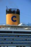 Velsen, Nederland - 11 Juni, 2015: Costa Fortuna Royalty-vrije Stock Afbeeldingen