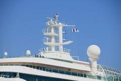Velsen, the Netherlands - April, 20 2018: MS Brilliance of the Seas. Velsen, the Netherlands - April, 20 2018: Velsen, the Netherlands - April, 20 2018: MS royalty free stock photography