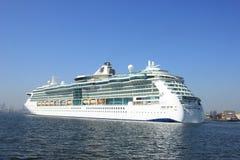Velsen, the Netherlands - April, 20 2018: MS Brilliance of the Seas. Velsen, the Netherlands - April, 20 2018: Velsen, the Netherlands - April, 20 2018: MS stock images