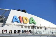 Velsen, the Netherlands -April 23rd 2018: Aida Diva Stock Photography