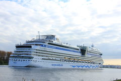 Velsen, the Netherlands -April 19th, 2017:   Aida Sol Royalty Free Stock Photo
