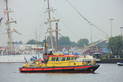 Velsen, The Netherlands - August 19 2015: Sail Amsterdam 2015 Stock Photos