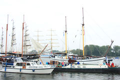Velsen, The Netherlands - August 19 2015: Sail Amsterdam 2015 Stock Photo