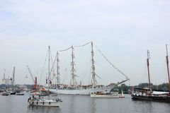 Velsen, The Netherlands - August 19 2015: Sail Amsterdam 2015 Royalty Free Stock Images
