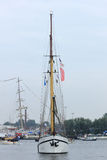 Velsen, The Netherlands - August 19 2015: Sail Amsterdam 2015 Stock Image