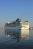 Velsen, The Netherlands - July 2nd, 2015: MSC Splendida Royalty Free Stock Photo