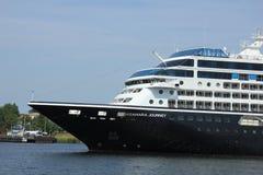 Velsen, The Netherlands - June 21st 2017: Azamara Journey - Azamara Club Cruises Royalty Free Stock Images