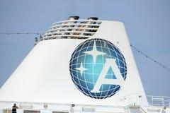 Velsen, The Netherlands - June 21st 2017: Azamara Journey - Azamara Club Cruises Royalty Free Stock Photo