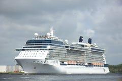 Velsen, The Netherlands - June 9th 2017: Celebrity Eclipse - Celebrity Cruises Stock Image