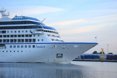 Velsen, The Netherlands - June 15th 2017: Nautica - Oceania Cruises Stock Images