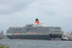 Velsen, The Netherlands - June 7th 2017: Queen Victoria, Cunard Royalty Free Stock Image