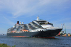 Velsen, The Netherlands - June 5th 2017: Queen Victoria, Cunard Royalty Free Stock Image