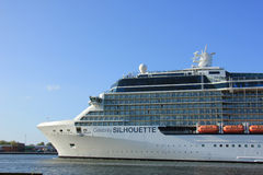 Velsen, The Netherlands - May 16 2015: Celebrity Silhouette Royalty Free Stock Images