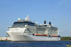 Velsen, The Netherlands - May 16 2015: Celebrity Silhouette Royalty Free Stock Image
