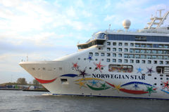 Velsen, The Netherlands - May 9, 2015: Norwegian Star Royalty Free Stock Image