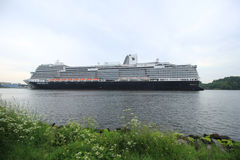 Velsen, the Netherlands - may, 29th 2016: Koningsdam royalty free stock images