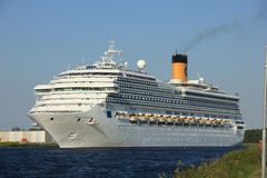 Velsen, os Países Baixos - 11 de junho de 2015: Costa Fortuna Foto de Stock Royalty Free