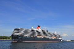 Velsen, Paesi Bassi - 5 giugno 2017: Regina Victoria, Cunard Fotografia Stock